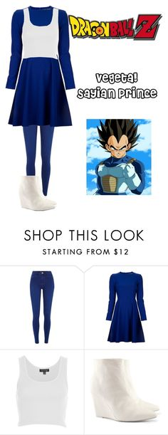 """Dragon Ball Z!"" by sma227 ❤ liked on Polyvore featuring River Island, Proenza Schouler, Topshop and H&M"