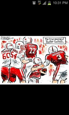 Proud to be a Husker fan & supporter of Jack!  Go Big Red!!!