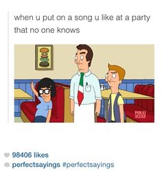 If I liked parties...which will never happen