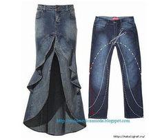 как переделать старые джинсы, как перешить старые джинсы, что можно сшить из…
