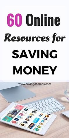 Many online resources can be used for saving money. Here is a list of websites and apps that help you with different aspects of personal finances. | personal finance tips, ways to save money, tips on saving money and frugal living.