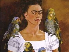 Me and My Parrots - Frida Kahlo