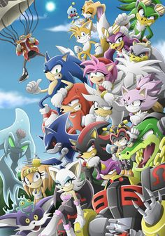 I miss Sonic X ; I know there will be a new sonic tv show soon but still. Sonic The Hedgehog, Silver The Hedgehog, Shadow The Hedgehog, Sonic Fan Art, Ocelot, Geeks, Ghibli, Pokemon, Sonic Heroes