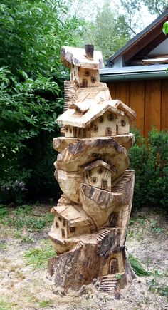 Tree village carving. Excel in the area of your interest. http://youtu.be/bK7NUdh01WY