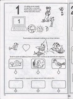 Album Archive - pregatirea pentru scoala a copilului prescolar -matematica Preschool Math, Kindergarten, Math Numbers, Kids Learning, Worksheets, Diy And Crafts, Projects To Try, Bullet Journal, Album