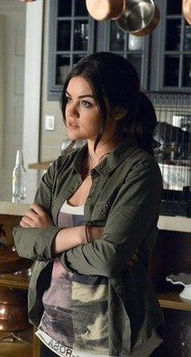"Aria's All Saints Edge Tank Pretty Little Liars Season 4, Episode 2: ""Turn of the Shoe"" - Spotted on TV"