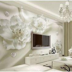 33ft Imitation Soft Wallpaper Bedroom Backdrop 3D Stereo Diamond Hotel Wallpaper