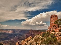 grand canyon watchtower - Google Search