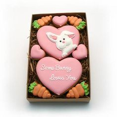 Decorated Cookies  Easter  Some Bunny Love You  by katieduran, $13.95