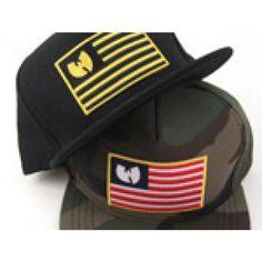 Rocksmith x Wu Tang Iron Flag Snapback Hat 949d2fe724c6