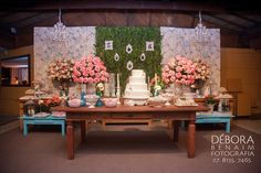 Decoração de Casamento Romântica - Noivinhas de Luxo