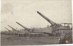 Foto Prima Guerra 1917 cannoni inglesi al fronte originale d'epoca collezione