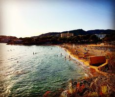 Sonnenuntergang am Playa Tora in Paguera Mallorca Das Hotel, River, Outdoor, Bahia, Pictures, Beach, Vacation Places, Black Forest