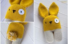 DIY – gratis haakpatroon knuffel konijn