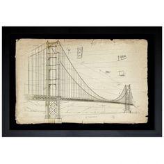 Golden Gate Bridge 1933 — The Oliver Gal Artist Co.