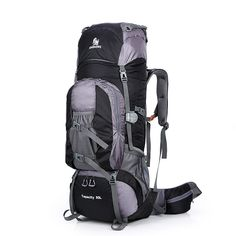 010fd532a1b2 Large 80L Outdoor Backpack Travel Climbing Backpack Hiking Sport Bag  Camping Backpack Big Capacity Mountain Rucksack
