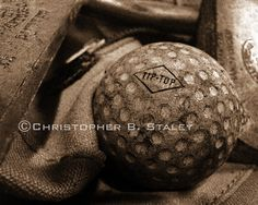 Vintage Golf Ball Photo