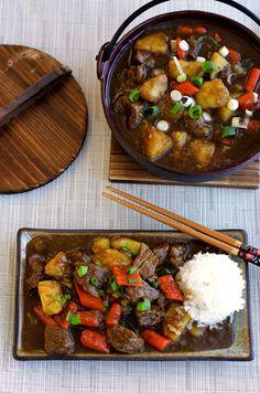 Japanese Beef Curry - Paleo Fondue