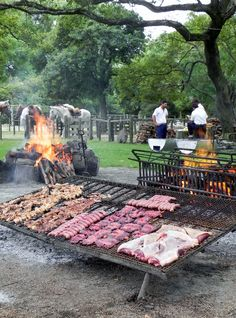 Grilled BBQ in Uruguay.