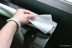 how to cut contact paper in your cricut or silhouette - it's cheaper!!