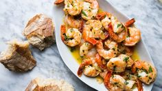 Scampi on video.bonappetit.com