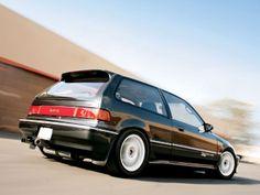 1988 Honda Civic Si Hatchback - with tinted windows, extra sharp