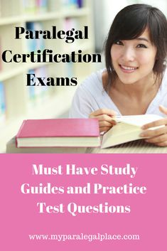 Get the study guides and be ready for the NALS and PACE exams, and more! Career Ideas, Career Goals, Career Advice, Study Guides, Paralegal, Divorce, Must Haves, Back To School, Law