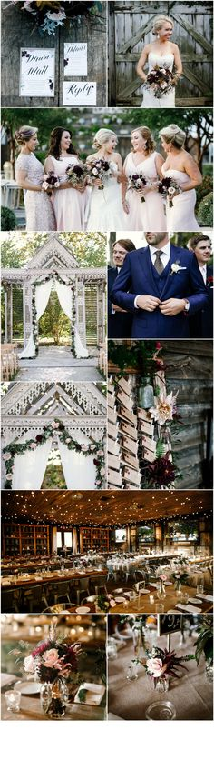 Glen Mills Wedding Florist - A Garden Party Florist - Terrain - We Laugh We Love Photography - vintage glam wedding - rustic wedding - dahlias - garland - rosemary