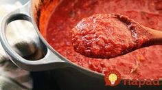 Najlepšia paradajková omáčka na cestoviny aj k mäsu: Ako z talianskej reštaurácie!