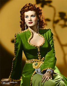 Maureen Ohara...loved her in the original Parent Trap :)
