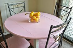 Mellywood's Mansion: Dining table & Chair, (I might need to change the name of this blog to the Barbie Dream house)