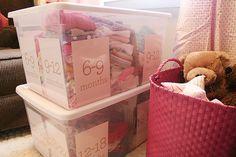 Organize baby stuff