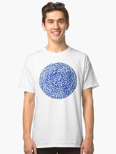 """""""Blue Bloom """" T-shirt by YollieBeeArt   Redbubble"""
