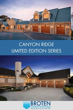 Canyon Ridge Limited Edition Residential Series