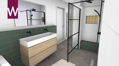 Kleurrijke badkamer met zwarte details Alcove, Showroom, Bathtub, Bathroom, Standing Bath, Washroom, Bathtubs, Bath Tube, Full Bath