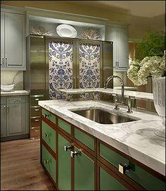 Kitchen design at Bentwood #houston. Kitchen & Bath Cottage is an authorized Bentwood showroom. www.kbcottage.com.