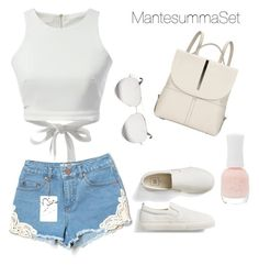 """Summer MantesummaSet"" by mantesummaset on Polyvore featuring мода, Kin by John Lewis, Gap, WithChic, Miss Selfridge, Victoria Beckham и Charlotte Russe"