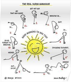 yoga poses for beginners \ yoga + yoga poses for beginners + yoga poses + yoga fitness + yoga inspiration + yoga quotes + yoga routine + yoga room Surya Namaskar, Yoga Journal, Yoga Salutation Au Soleil, Sun Salutation Sequence, Yoga Inspiration, Fitness Inspiration, Yoga Fitness, Health Fitness, Muscle Fitness