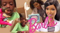 Barbie Dentist Playset Unboxing and role play | Autty's World