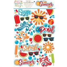Miss Kate Cuttables Paper Die Cuts for Scrapbooking, Card Making, Paper Crafting