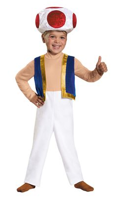 Perfect pick TOAD TODDLER 3-4T.
