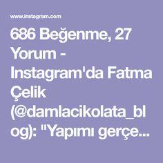 """686 Beğenme, 27 Yorum - Instagram'da Fatma Çelik (@damlacikolata_blog): """"Yapımı gerçekten çok basit ama lezzeti bir harika,üstelik önceden de hazırlamak mümkün, Bütün…"""""""