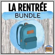 Back to School French Bundle - La rentrée! Core French, French Class, French Basics, Breakout Boxes, Dictionary Skills, School Reviews, French Verbs, Confidence Boost, English Dictionaries