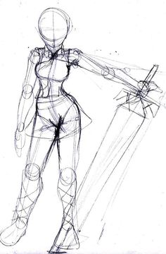 Trendy Drawing Reference Poses Models Artists - trendy drawing reference poses models artists Drawing Tips drawing poses - Drawing Body Poses, Body Reference Drawing, Drawing Reference Poses, Drawing Ideas, Drawing Tips, Drawing Drawing, Chibi Drawing, Sword Reference, Female Pose Reference