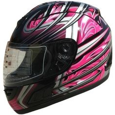 Adult Full Face Sports Motorcycle Helmet DOT (508) 169 Pink by X4, http://www.amazon.com/gp/product/B005XHCECC/ref=cm_sw_r_pi_alp_Kg4sqb0QQW0ED