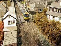 I am in love with this yellow train. I love to watch it running on the rails. :)