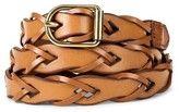 Mossimo Supply Co. Women's Vachetta Link Braid Belt