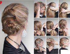 Adım Adım Saç Modelleri / Foto Galeri için Tıklayın