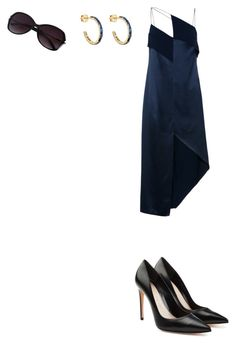 """""""Untitled #514"""" by aayushi3912 ❤ liked on Polyvore featuring Dion Lee, Pamela Love and Alexander McQueen"""