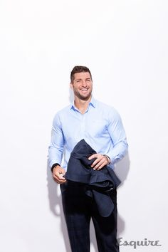 Tim Tebow Looks as Good as He Is Likeable  - Esquire.com